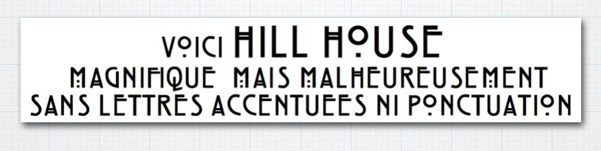 HillHouseFont